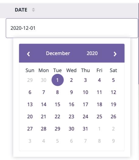 Date-attribute plytix