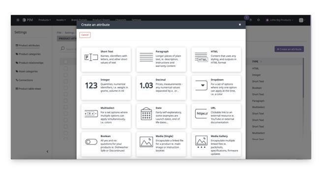 create-attribute-settings