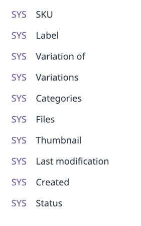 pim-system-attributes