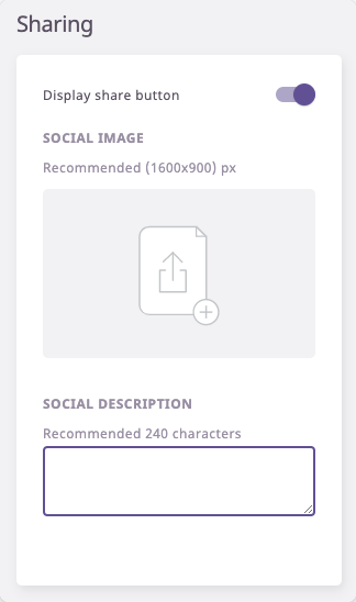 Sharing E-catalogs