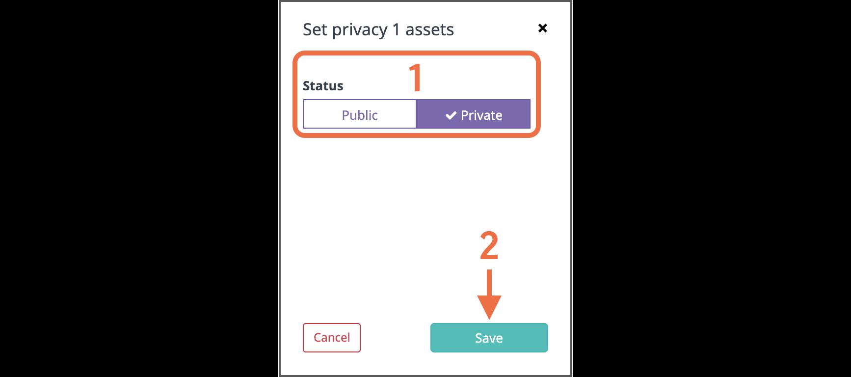 Choosing privacy-1
