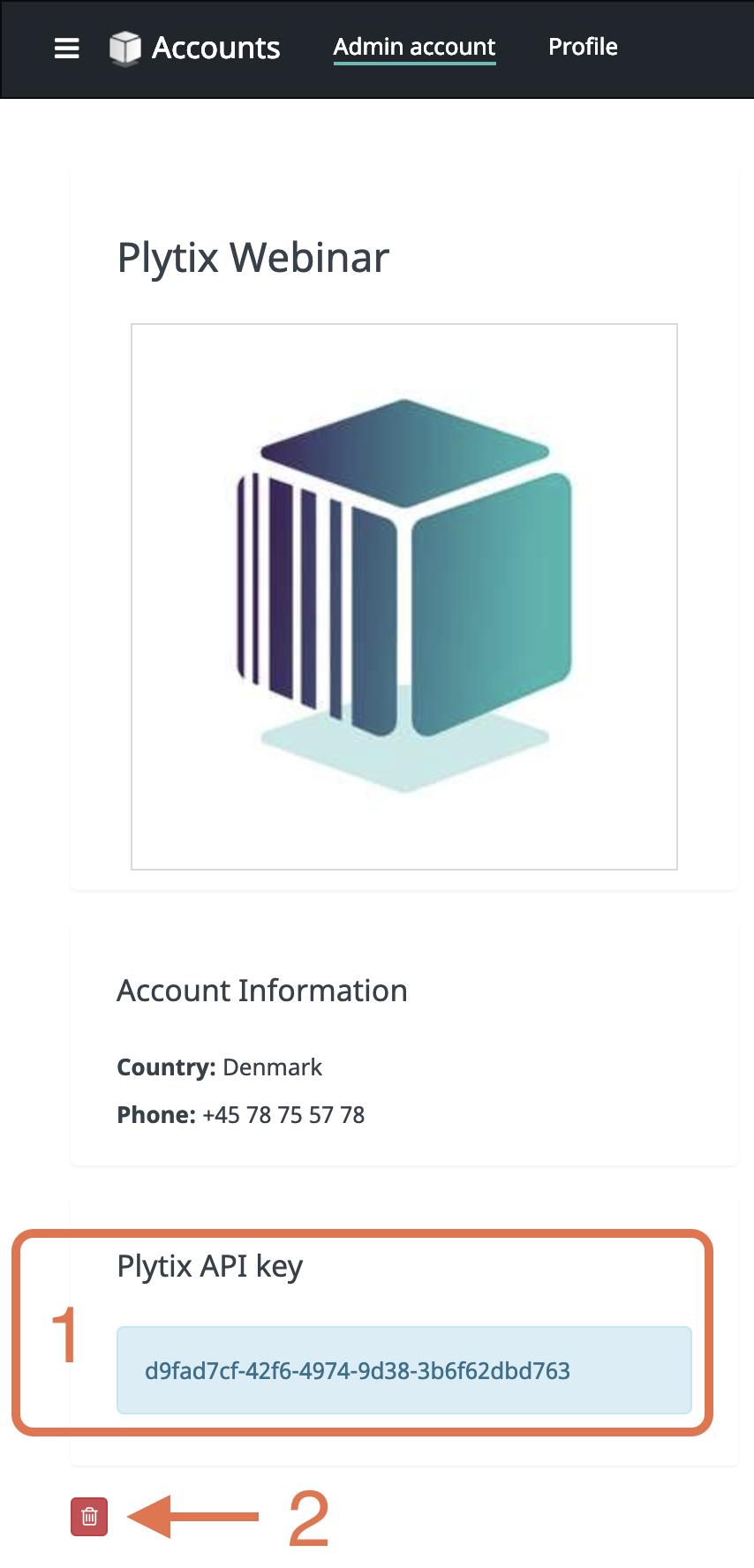 Account API Key
