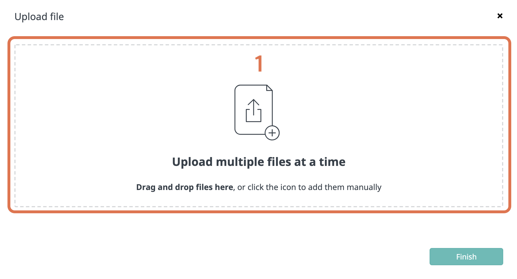 bulk import of files - file selection-1