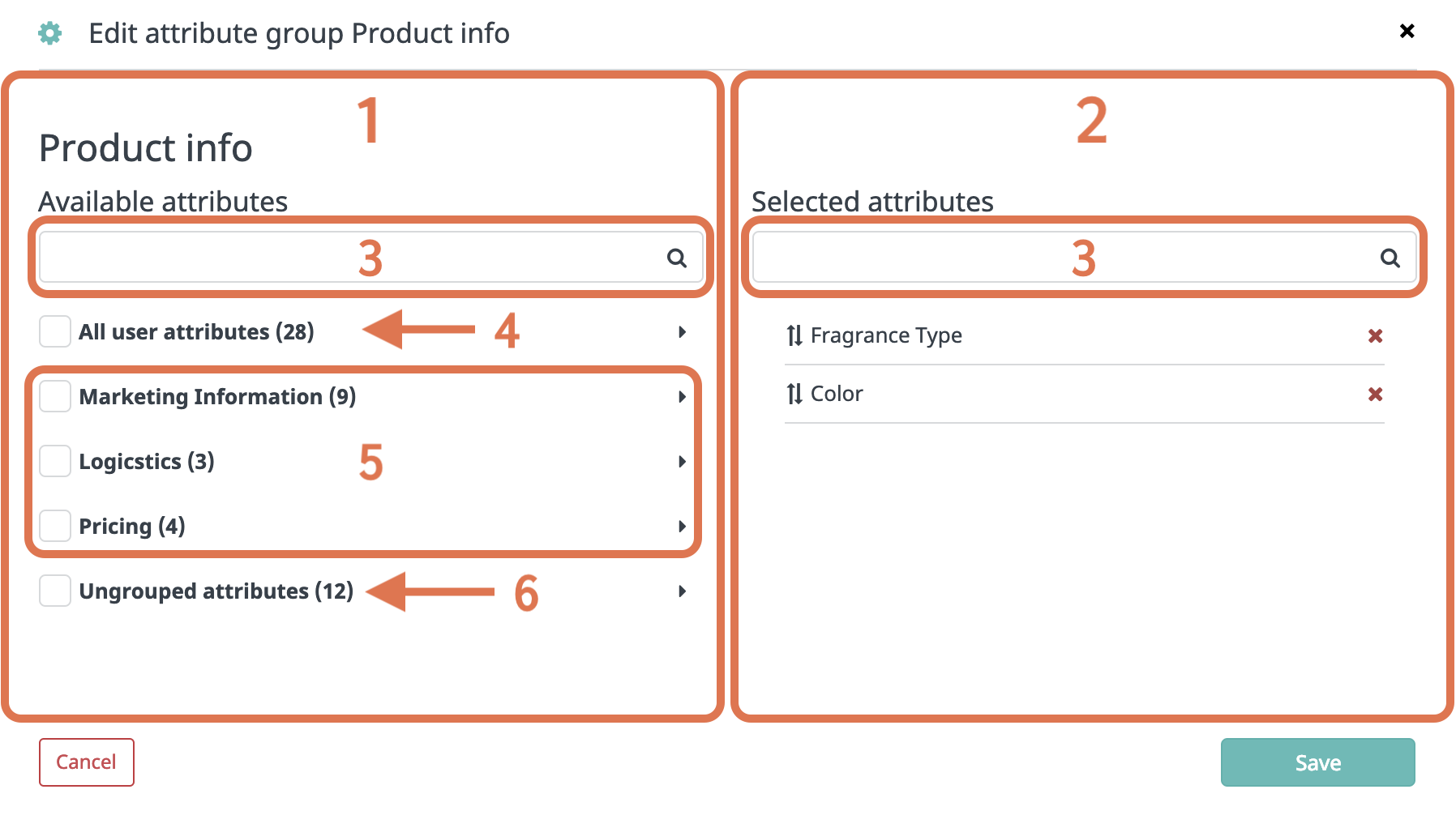 editing attribute groups product info-1